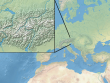 Natural Earth, Mercator, Zoom 4 und 7